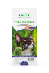 Лакомство для кошек TitBit, Трава