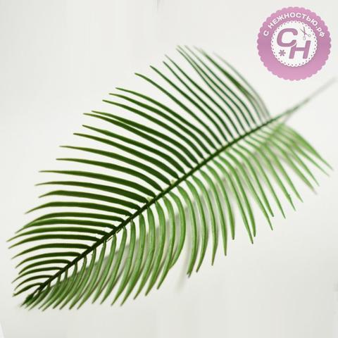Искусственная зелень  - лист пальмы, 47 см.