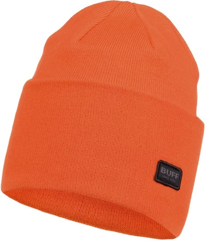 Вязаная шапка Buff Hat Knitted Niels Tangerine фото 1