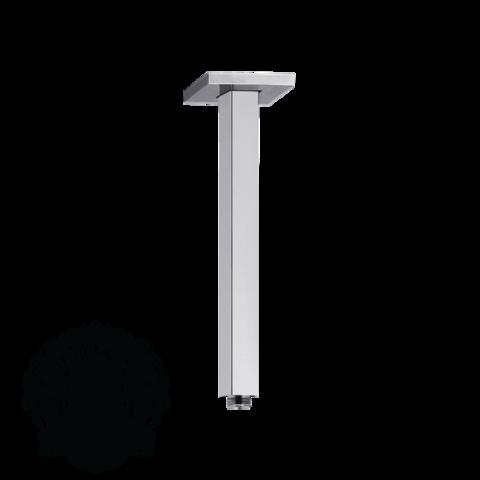 Кронштейн для верхнего душа потолочный квадратный 19см.  Migliore ML.RIC-36.102