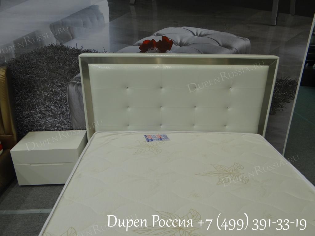 Кровать Dupen (Дюпен) 624 COCO белая
