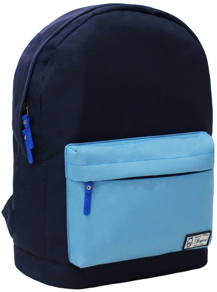 Городские рюкзаки Рюкзак Bagland Молодежный W/R 17 л. 330 чорнильний/блакитний (00533662) efb926bfce4f58539b1c2b45a5676b09.JPG