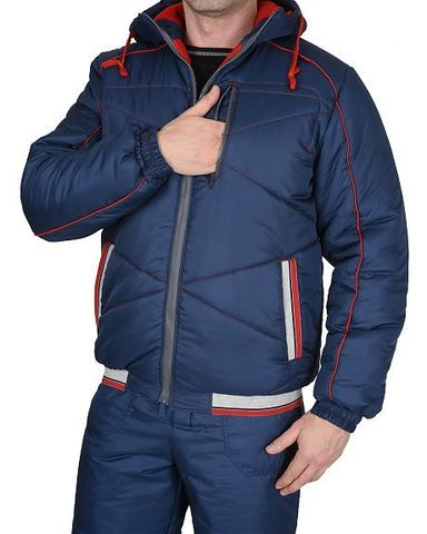 Костюм  Синий куртка, брюки