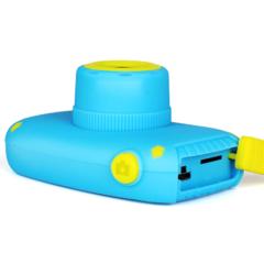 Фотоаппарат детский SmileZoom Мишка 20 Мп / Желтый - сбоку