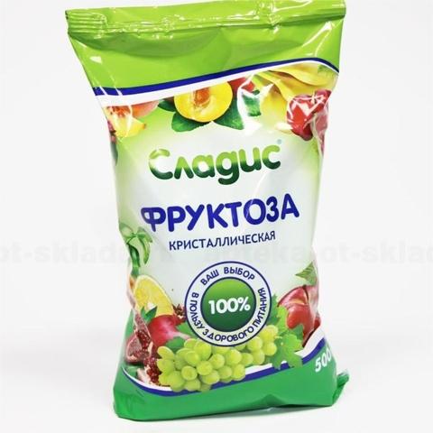 Фруктоза СЛАДИС Кристаллическая 500 гр Арком РОССИЯ