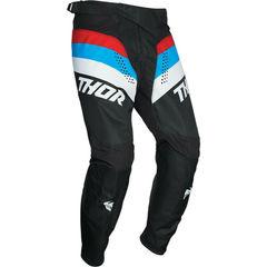 Штаны для мотокросса THOR 2021 Pulse Racer -черный/красный/синий