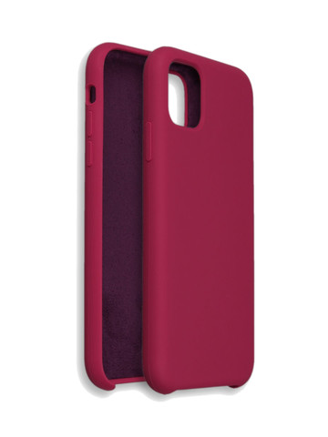 Чехол для iPhone 11 Pro Софт тач мягкий эффект | микрофибра перламутровый