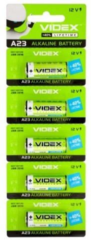 Батарейки Videx 23A, 12V (5/100)