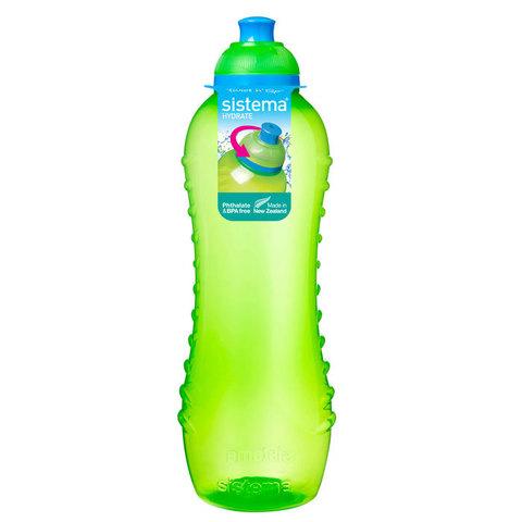 """Бутылка для воды Sistema """"Hydrate"""" 620  мл, цвет Зеленый"""