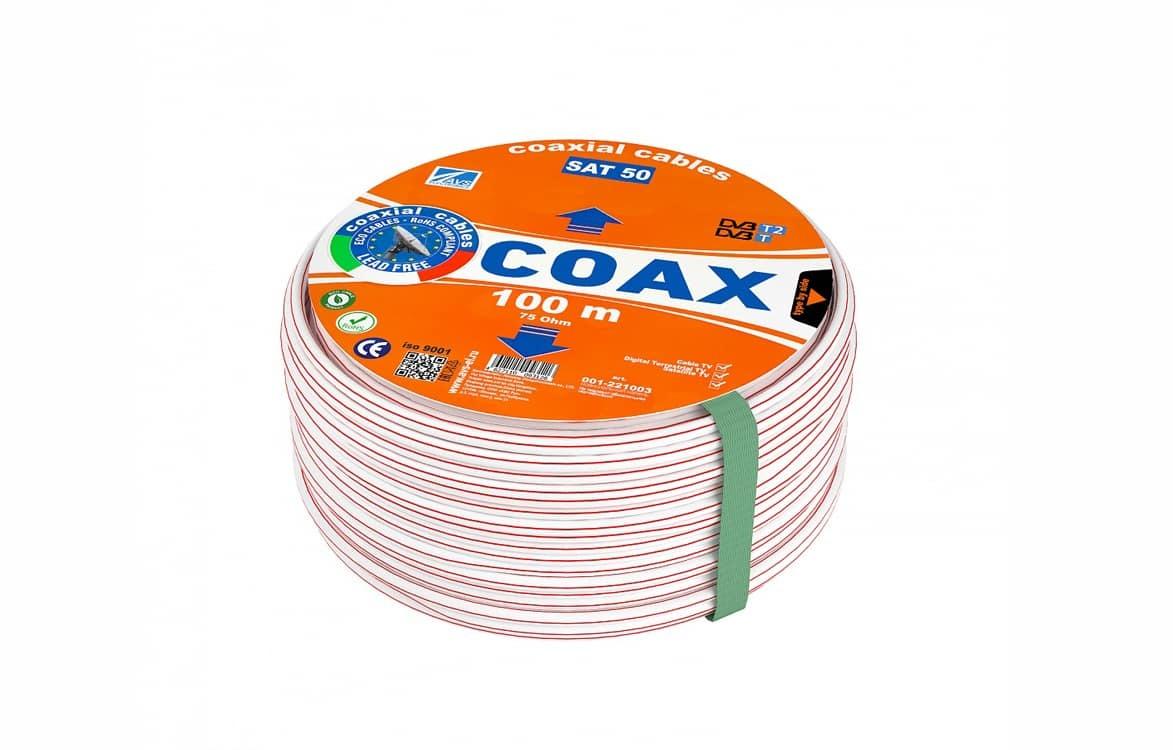 Коаксиальный кабель SAT 50 AVS Electronics (100m) NEW