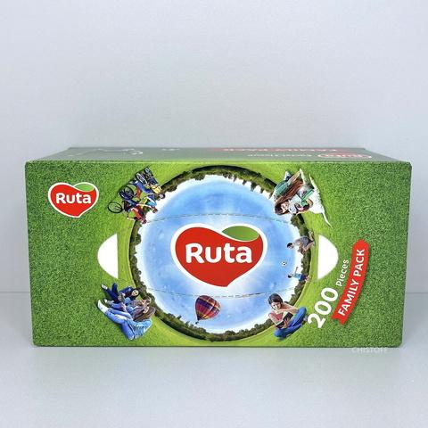 Бумажные салфетки Ruta Family Рack в коробке (200 шт.)