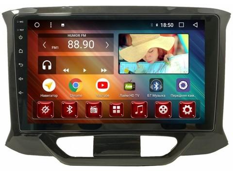 Штатная магнитола для Лада Х-рей (2016+)  Android 10 4/64GB IPS DSP 4G модель CB3333TS10