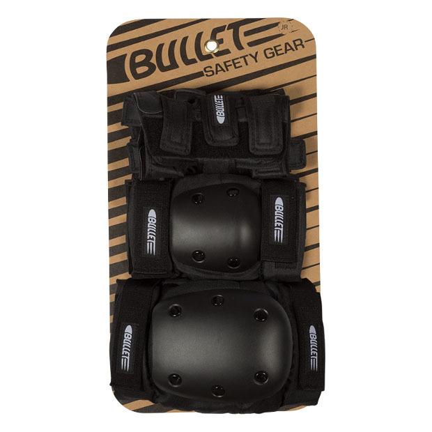 Комплект защиты детский BULLET Junior Set (Black)