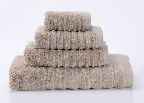Wellness-4 серое махровое  полотенце Valtery