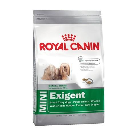 12 кг. ROYAL CANIN Сухой корм для взрослых собак мелких пород, привередливых в питании MINI Exigent