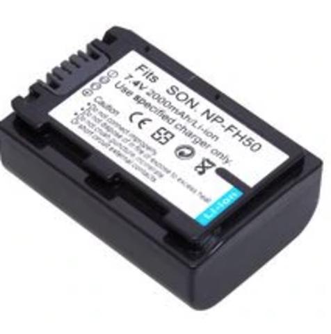 Аккумулятор Allytec NP-FH50 для Sony 2000 mAh