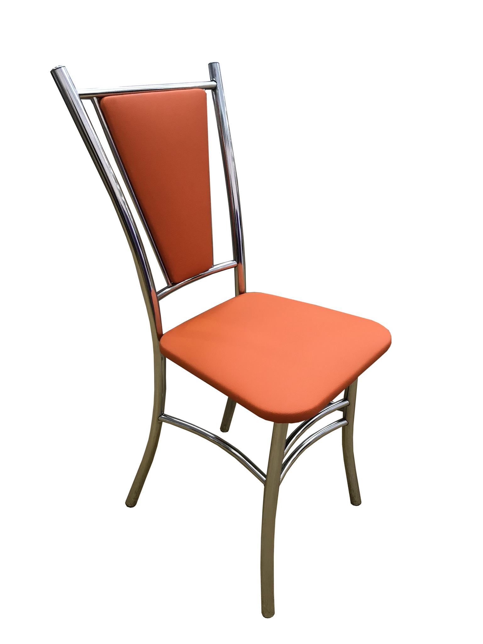 стул Лилия оранжевый