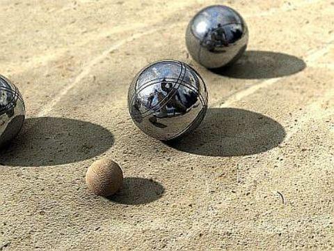 Петанк (боча) стальной, 8 шаров