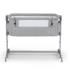 Кроватка приставная Kinderkraft Neste Up Grey Light Melange
