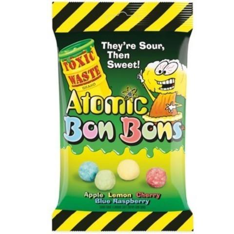 Кислые драже Toxic Waste Atomic Bon Bons 150 гр