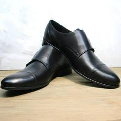 Красивые туфли под костюм Ikoc 2205-1 BLC.