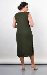 Венера. Жіноче плаття великого розміру. Олива.