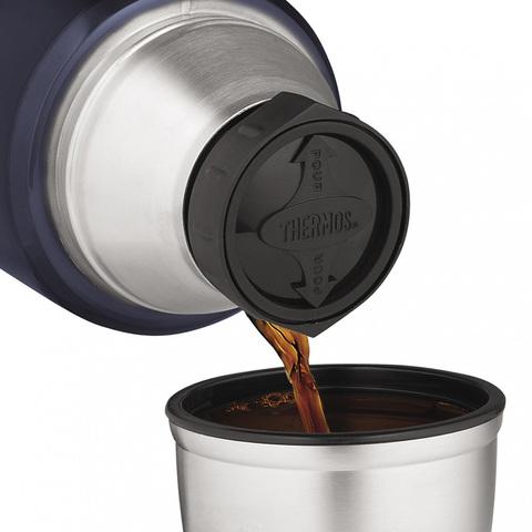 Термос Thermos King SK2010 (1,2 литра), черный