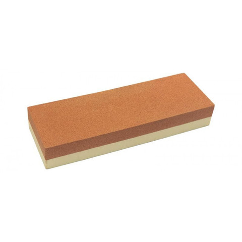 Искусственный двухсторонний водный камень для заточки изделий из стали, арт.T009