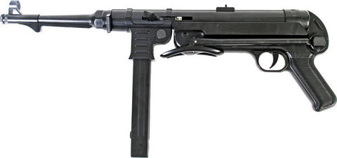Пистолет-пулемёт страйкбольный пружинный МP-40 (M-40)