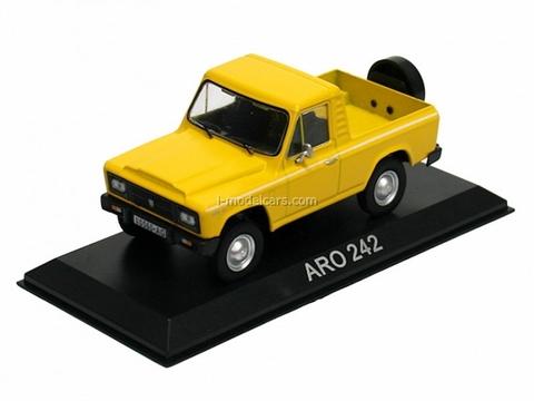 ARO 242 yellow 1:43 DeAgostini Masini de legenda #53