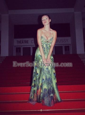 Виктория в платье Jovani 2737
