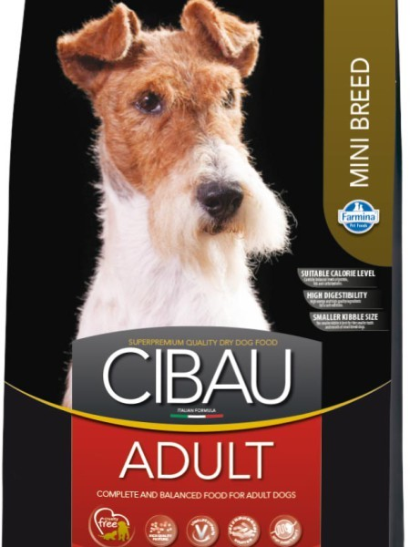 Farmina Корм для взрослых собак мелких пород, Farmina Cibau Adult Mini cibau-adult-mini-450x600.jpg