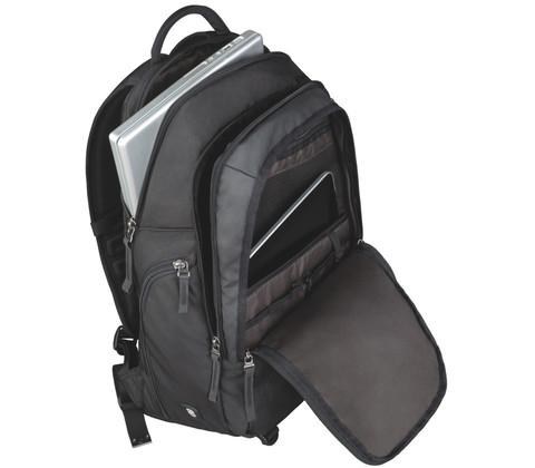 Рюкзак Victorinox Altmont 3.0, Vertical-Zip Backpack 17'', черный, 33x18x49 см, 29 л