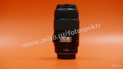 Canon EF 75-300 mm  f/4-5.6 Комиссия