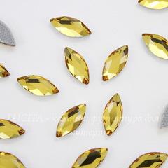 2201 Стразы Сваровски горячей фиксации наветте Sunflower (8х3,5 мм)