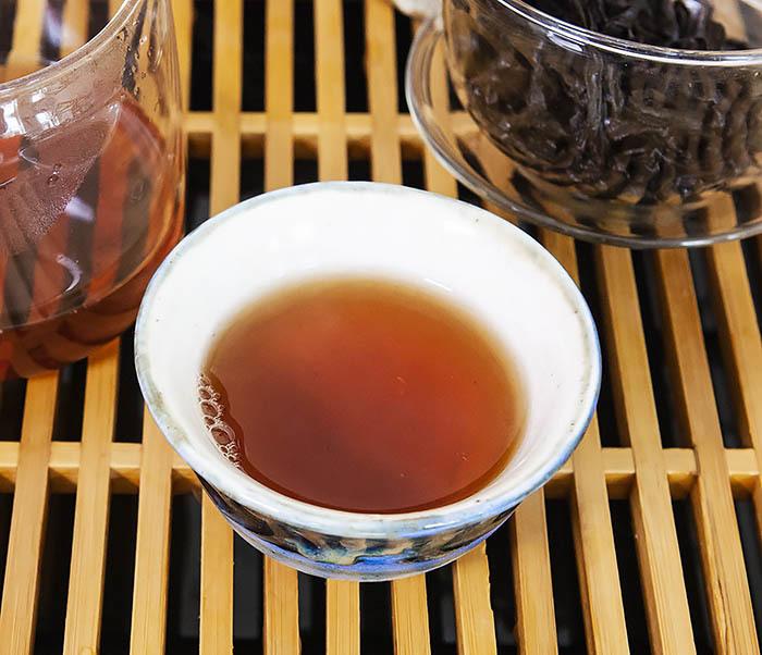 TEA-CH115 Китайский чай «Большой Красный Халат» (Да Хун Пао, сильная обжарка, 50 гр) фото 15