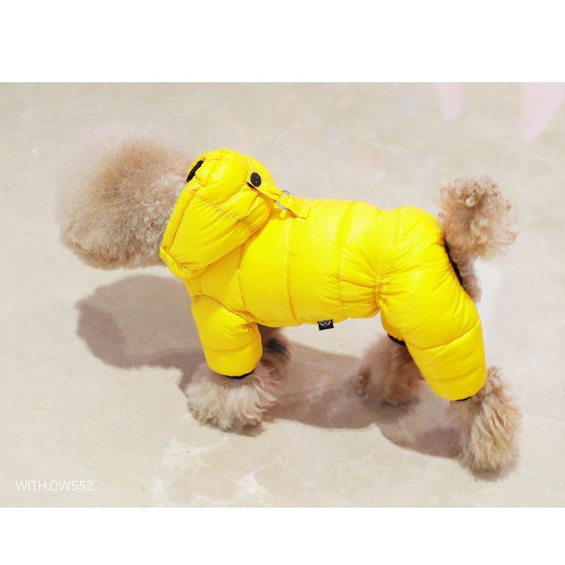 комбинезоны пуховики для собак девочек