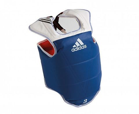 Защита корпуса двухсторонняя Adult Body Protector Reversible WTF сине-красная