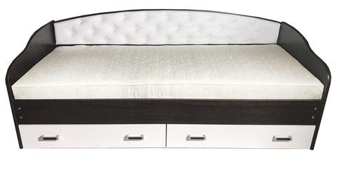 Кровать софа №7 с мягким элементом