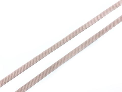 Резинка отделочная серебристый пион 4 мм (цв. 168)