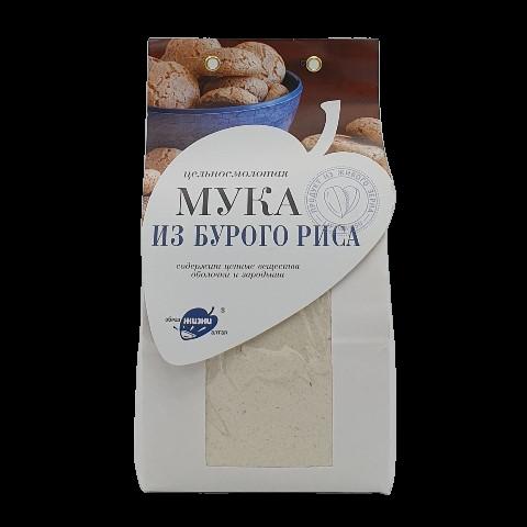 Мука из бурого риса цельносмолотая ОБРАЗ ЖИЗНИ, 500 гр