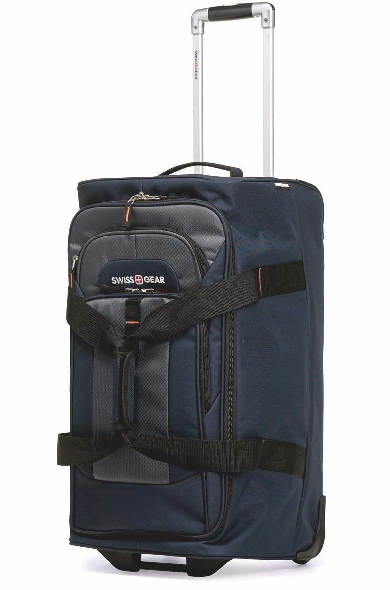 Сумка на колёсах SWISSGEAR Sport Line, 55 л., 61x36x30 см., цвет синий/серый (6166344267)