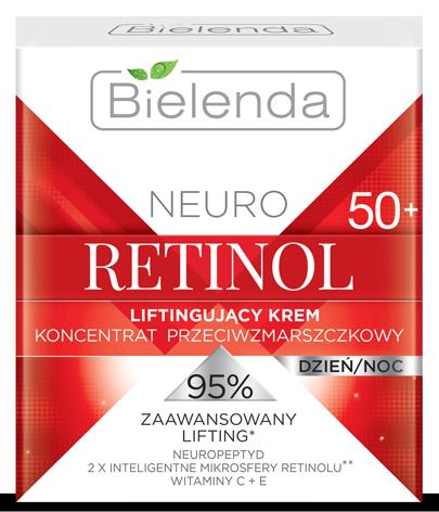 NEURO RETINOL Лифтинг-крем-концентрат против морщин для лица 50+ день/ночь  50мл