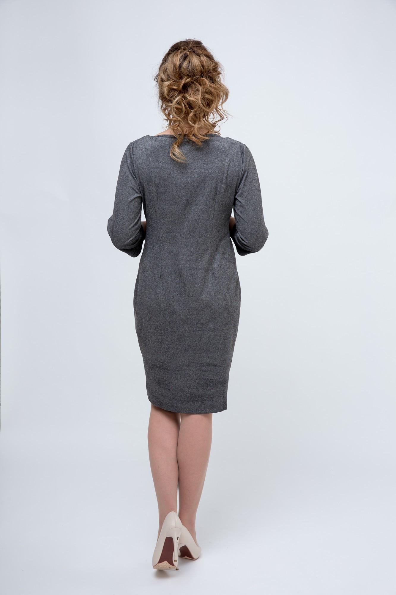 Фото платье для беременных и кормящих 9Fashion от магазина СкороМама, серый, размеры.