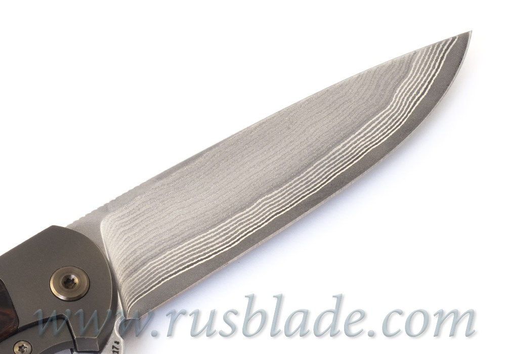 Cheburkov Scout laminated steel Liner Lock Best Russian Knives - фотография