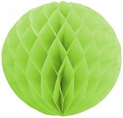 Бумажный шар светло-зеленый 30см