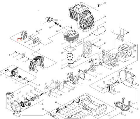 Карбюратор для лодочного мотора T3,5 Sea-PRO