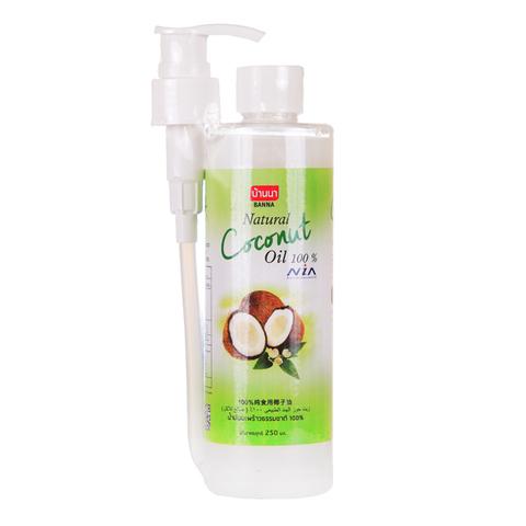Нерафинированное кокосовое масло Banna 250 мл