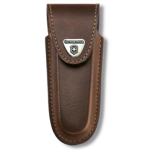 Чехол Victorinox 4.0538, коричневый (для толстых ножей длиной 111мм)