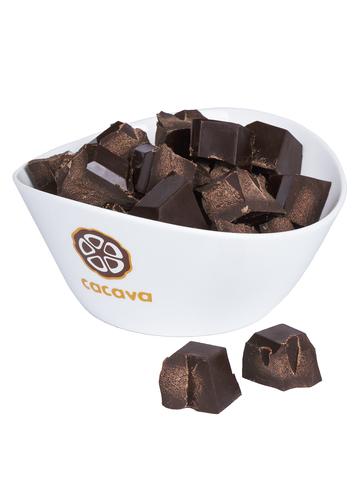 Какао тёртое кусочками (Мадагаскар, Åkesson), внешний вид